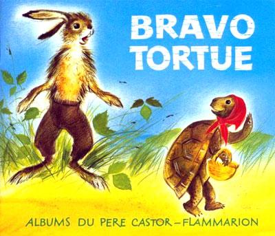 うさぎとカメ bravo tortue