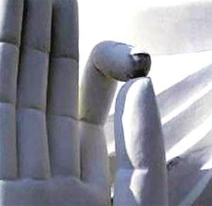 ブッダ手の形