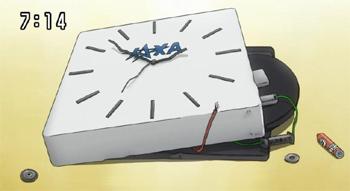 宇宙兄弟 時計が壊された